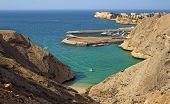 picture of oman  - Beautiful Al Qantab beach in Muscat - JPG