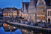 Ghent City Center, Belgium