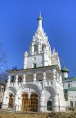 Bell tower of Church of the Nativity of Christ. Yaroslavl, Russia