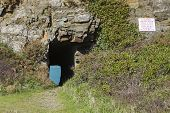 foto of sark  - Window in the rock on sark channel islands - JPG