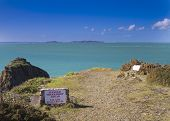 image of sark  - Danger Sign Sheer drop ahead on sark