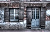 pic of creole  - an old house in the French quarter of New Orleans - JPG
