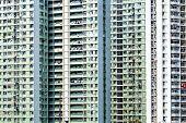 image of public housing  - Hong Kong new public housing - JPG