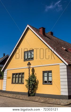 Small houses in Ystad