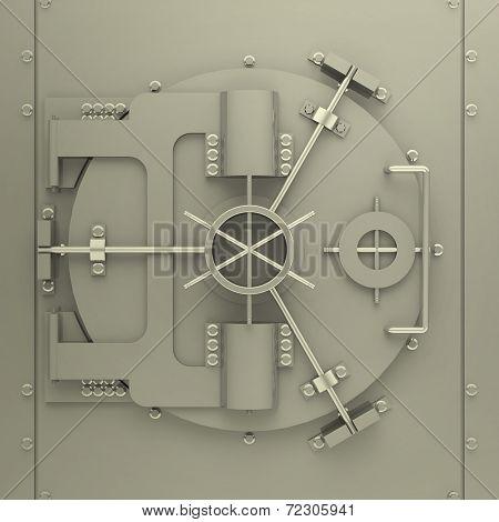 the bank vault