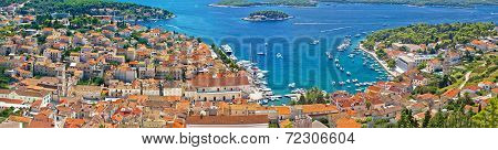 Croatian Tourist Destination Of Hvar