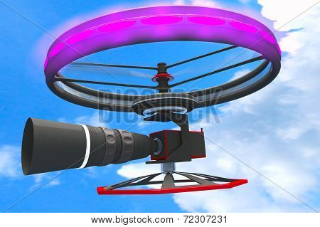 High End Broadcast Camera Drone