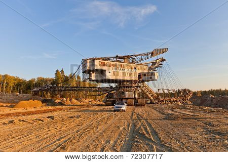 Giant Stacker (absetzer) Takraf Ers 710