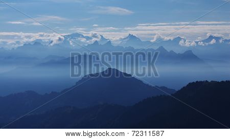 View From The Rigi