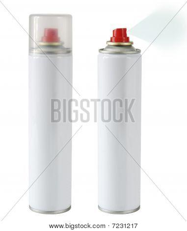 Sprinkling aerosol