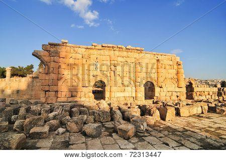 Ancient Ruins Of Jerash, Jordan
