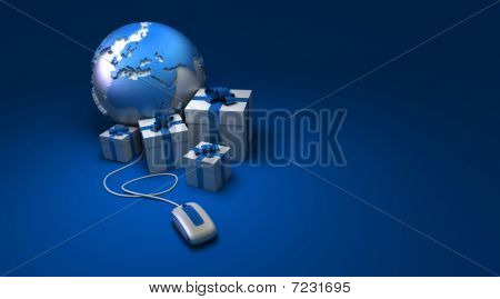 World Gifts Online Europe Blue