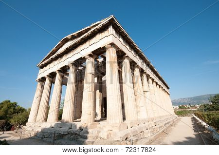 Temple Of Hephaistos, Athens Greece
