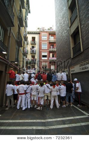 Running of the Bulls Fans