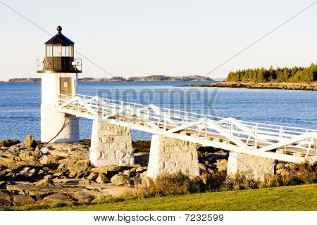 Lighthouse Maine USA