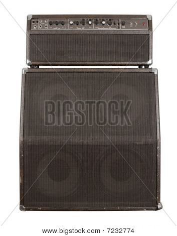 Old Guitar Amplifier Combo