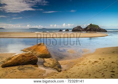 Stunning rocky coastline
