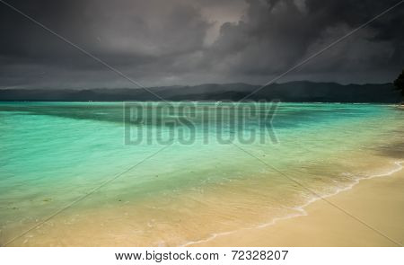 Storm over paradise