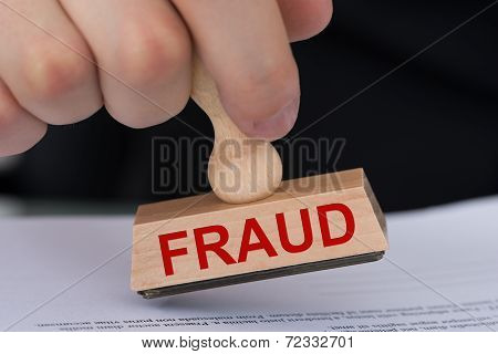 Stamping Fraud Stamp