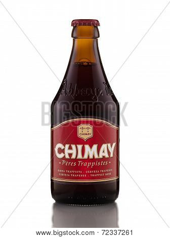 One Bottle Of Chimay Red Trappist Beer