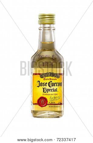 Miniature Bottle Of Jose Cuervo Especial Gold Tequila