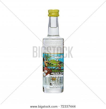 Miniature Bottle Of Vincent Van Gogh Coconut Flavored Vodka