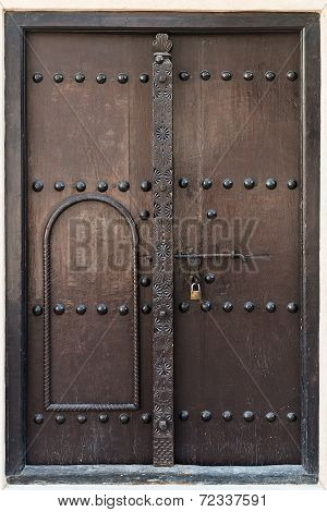 Antique Double Wooden Door
