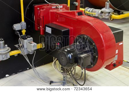 Industrial Burner Gas Boilers