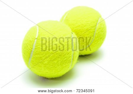 Tennis Balls Isolated
