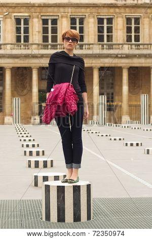 Elegant Parisian Woman