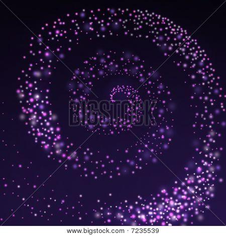 Espiral estrellada