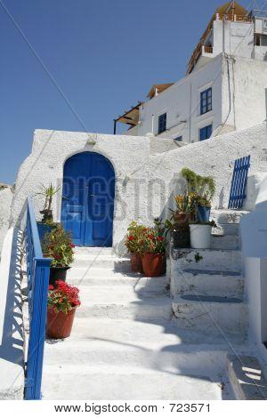 Santorini Entrance