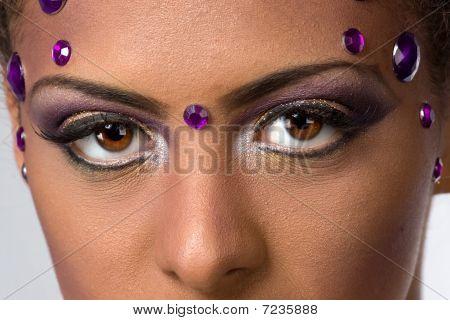 Seductive Womans Stare