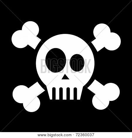Skull With Crossed Bones