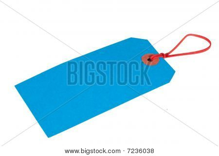 Blue Luggage Ticket