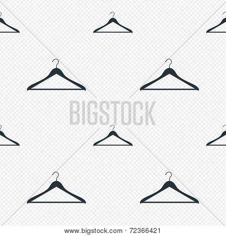 Hanger sign icon. Cloakroom symbol.