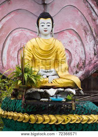 Buddha Image In Myeik, Myanmar