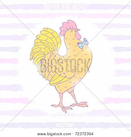 Cockerel stylish