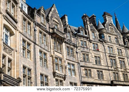 Typical buildings in Edinburgh