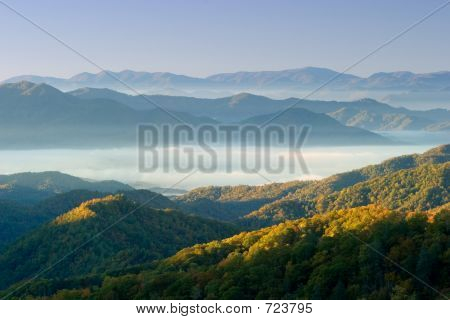 Fall Color In The Smoky Mountains