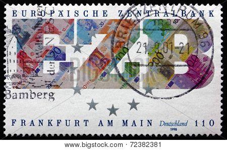 Postage Stamp Germany 1998 European Central Bank
