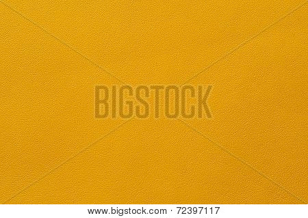 Closeup Of Seamless Yellow Leather Texture
