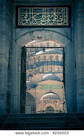 Blue Mosque / Istanbul / Turkey / Split Toning