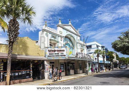 Cinema Theater Strand In Key West