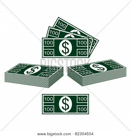 Set Of Dollars