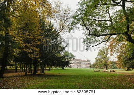 Autumn In The Park Of Monza