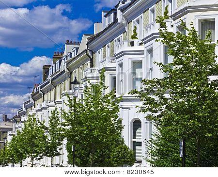 Luxus-Apartmentgebäuden in Notting hill