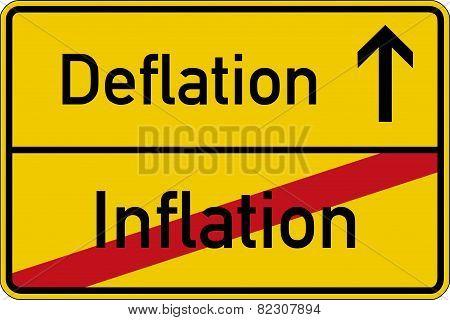 Inflation and deflation