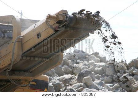 Construction - Rock Crusher