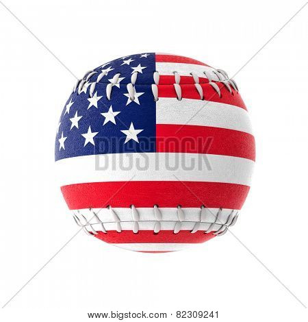 3d image of cuban baseball ball